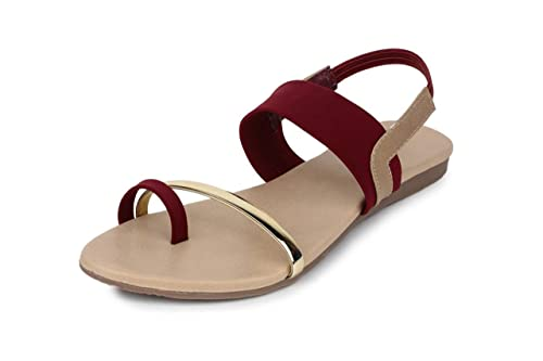 f2e5f2caa09 Myra Women s Back Strap Sandals  Buy Online at Low Prices in India ...