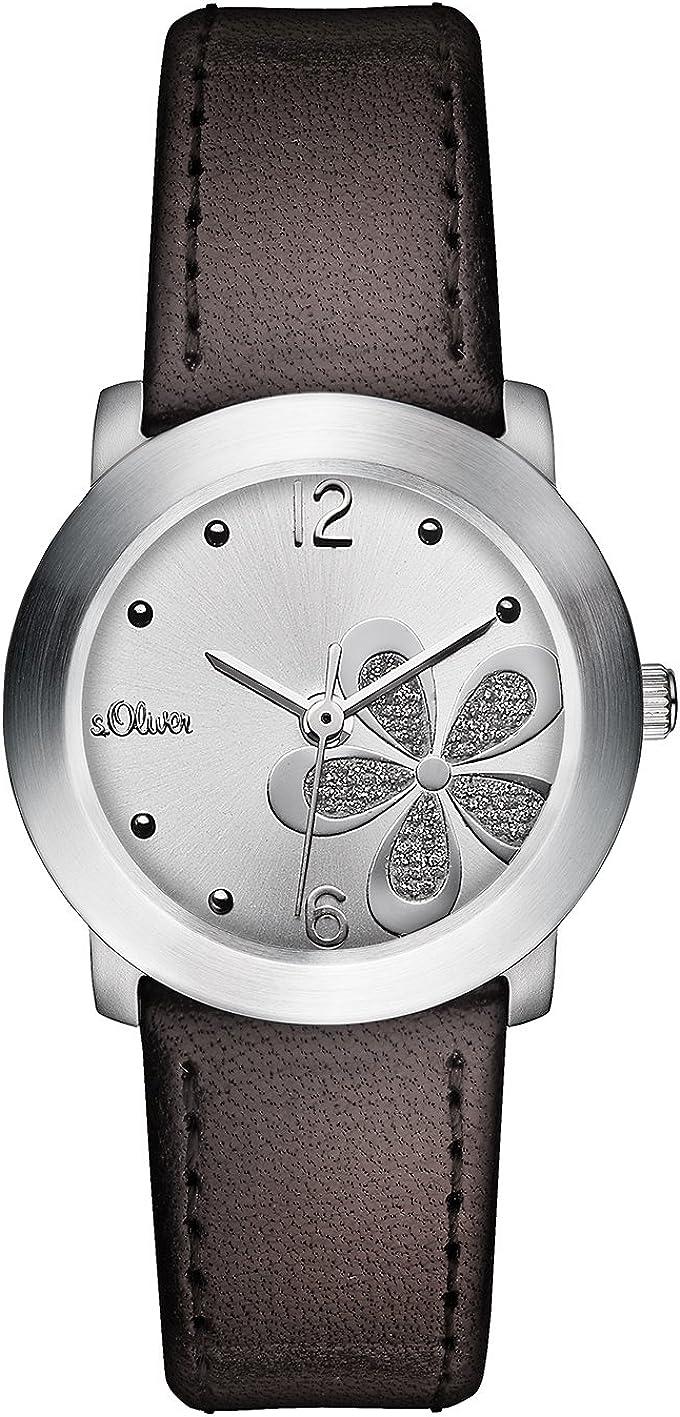 s.Oliver - Reloj de Pulsera para Mujer, 29 mm