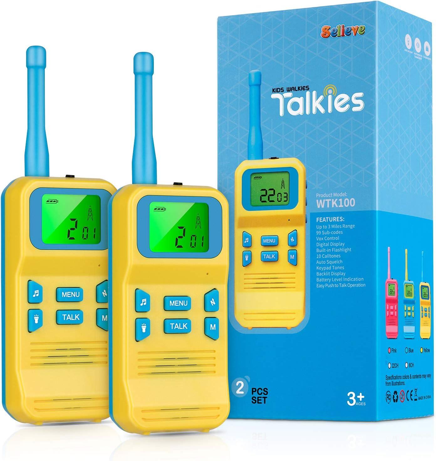 Selieve Spielzeug Ab 3 8 Jahren Junge Kinder Walkie Elektronik