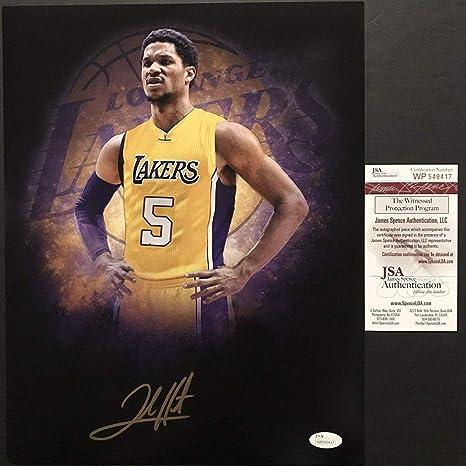 best service 49dc9 48993 Autographed/Signed Josh Hart Los Angeles LA Lakers 11x14 ...