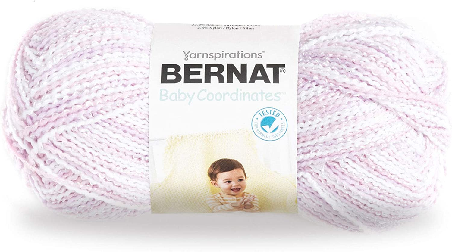 Ombre Gauge 3 Light Blue Flannel 4.25 oz Bernat Softee Baby Yarn