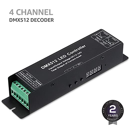 Review TORCHSTAR 4 Channel DMX512