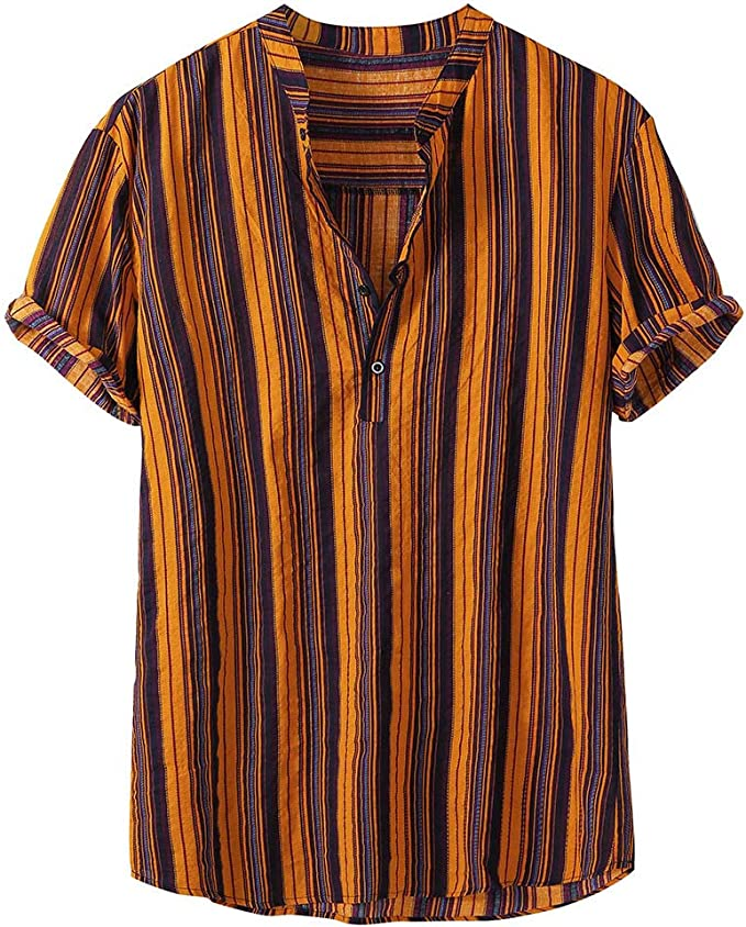 SoonerQuicker Camisa de Hombre T Shirt tee Camisa de Manga Corta ...