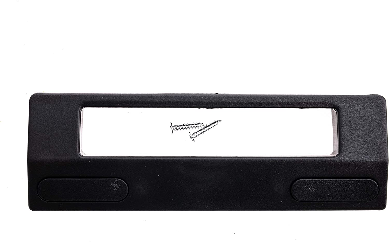 Tirador para puerta universal, para frigor/ífico, congelador, 200 x 60 x 45 mm color negro