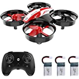 Holy Stone HS210 Mini Drone RC Nano Quadcopter Best Drone for Kids and Beginners RC Helicopter Plane with Auto Hovering, 3D F