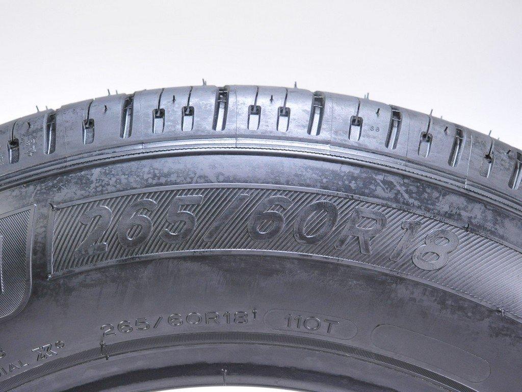 Michelin PREMIER LTX SL All-Season Radial Tire - 265/60R18 110T