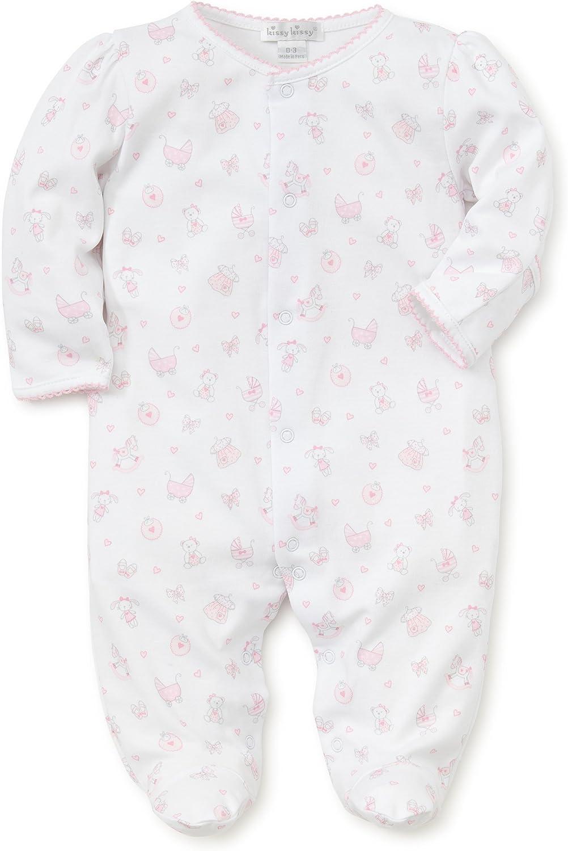 Kissy Kissy Baby-Girls Infant Baby Girl Print Footie