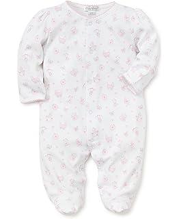 Amazon.com  Kissy Kissy Baby-Girls Infant Dina Darlings Print Footie ... 72dfd8158