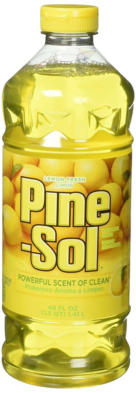pine-sol Multi - Surface Cleaner , Lemon Fresh Scent , 2 Countボトル, 96 Fl Oz合計 B01HQBMFPS