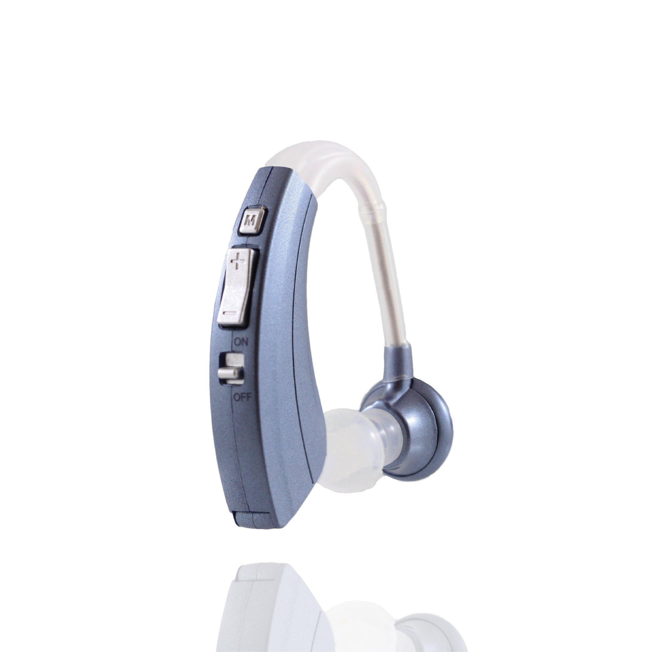 Digital Hearing Amplifier 220-B, Lowest Price, Longest Lasting, 12 Month Warranty (1)