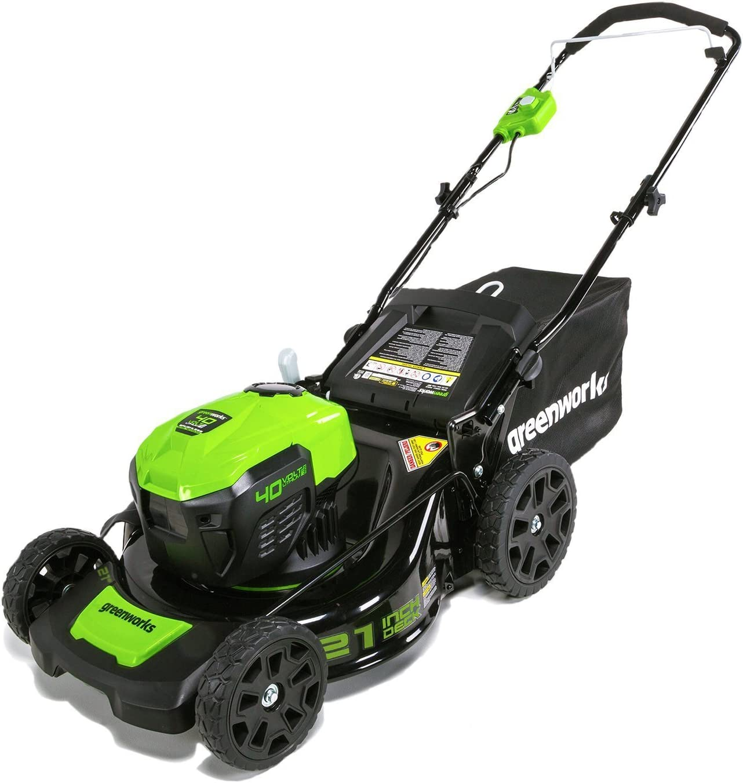 Greenworks MO40L01 Brushless Cordless Lawn Mower