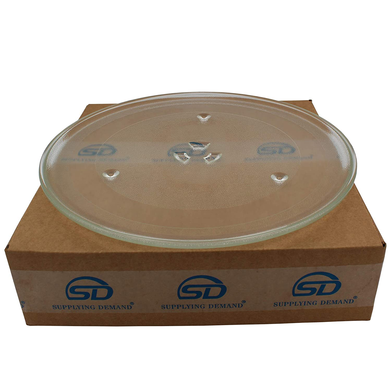 Supplying Demand DE74-20015B Microwave Glass 12.5 Inch Plate Tray DE74-20015B DE74-20015A