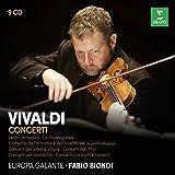 Vivaldi: Il cimento dell'armonia e dell'inventione, L'estro armonico, La Stravaganza, Concerti con molti strumenti (1&2), Concerti con titoli, Concerti per viola d'amore