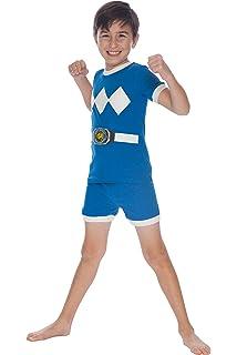 Power Rangers Boys Big Green Mighty Morphin Pajama Short Set 10 PR0001SSS