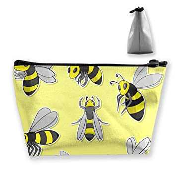 Cartoon Bee High-capacity Storage Bag Multi-purpose Storage Bag Portable Bag Trapezoidal Storage Bag