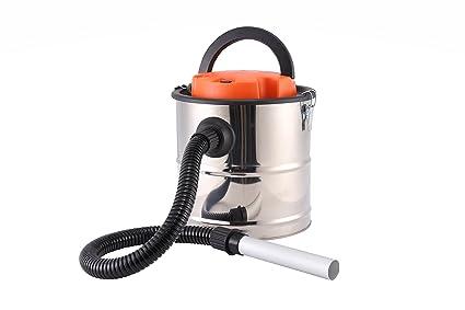 Bikain DI1200INOX - Aspirador de cenizas (1200 W, 20 L, cuba inoxidable) color plata: Amazon.es: Bricolaje y herramientas