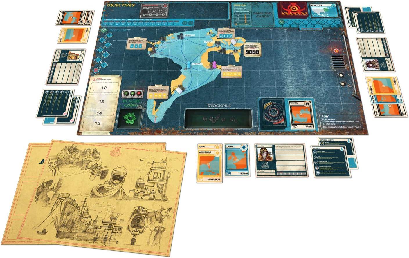 Z-Man Games Pandemic Legacy Season 2 - Juego de Mesa: Amazon.es: Juguetes y juegos