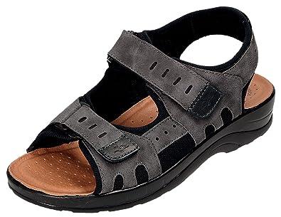 535708d8a248 Fly Flot Men s Sandal 665675 Gray  Amazon.co.uk  Shoes   Bags