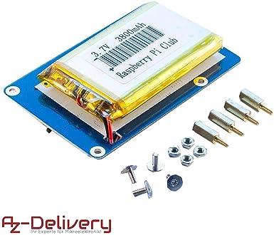 AZDelivery Portable de batería Power Pack para Raspberry Pi con ...