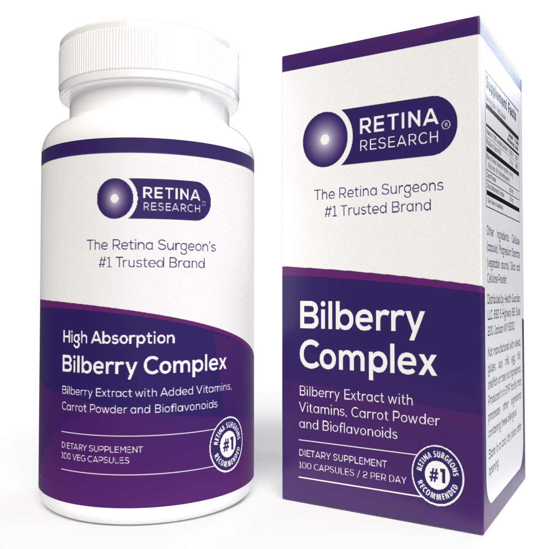 Organic Bilberry Supplement - 5-in-1 Polyphenols