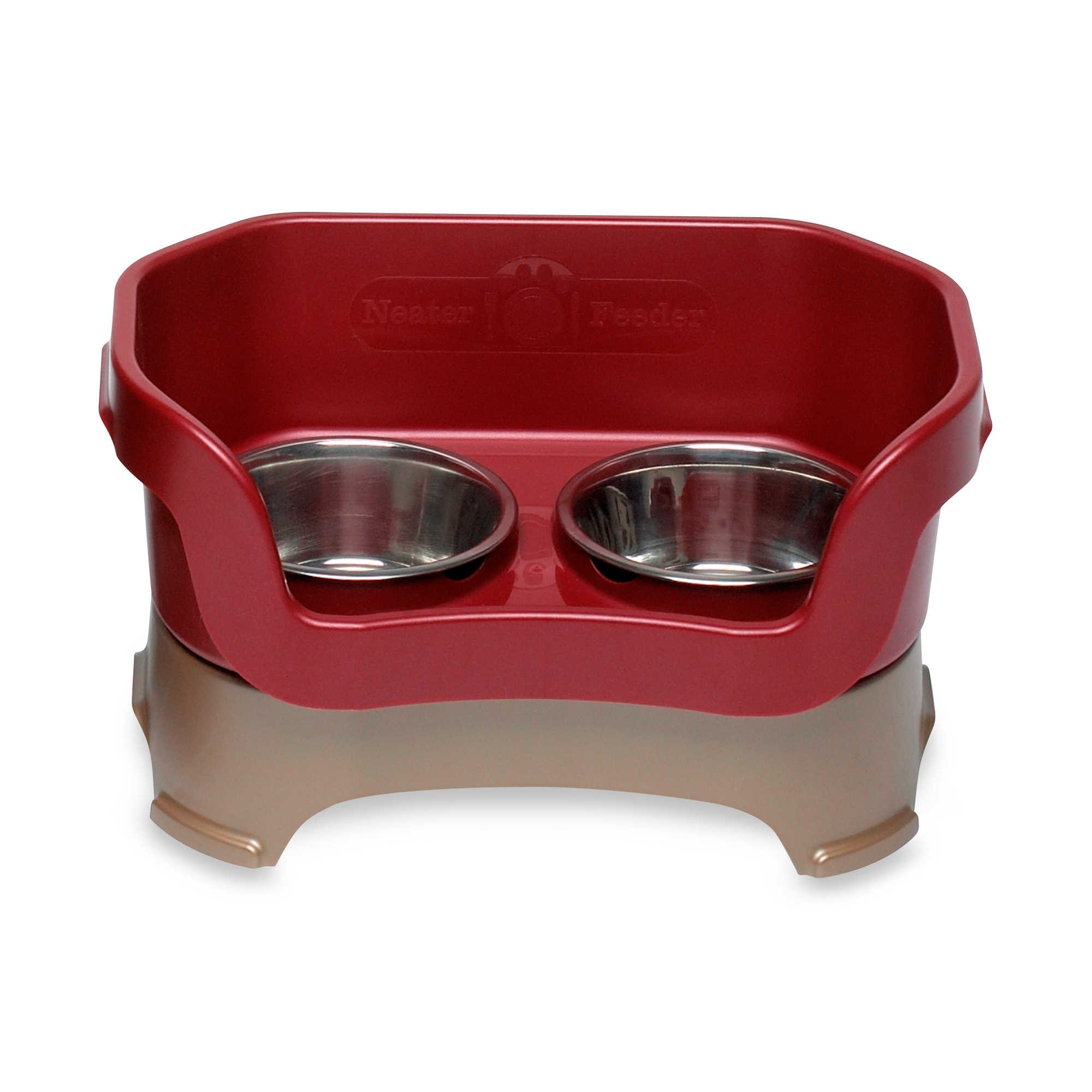 Neater Feeder Cranberry Mess-Proof Medium Pet Bowl