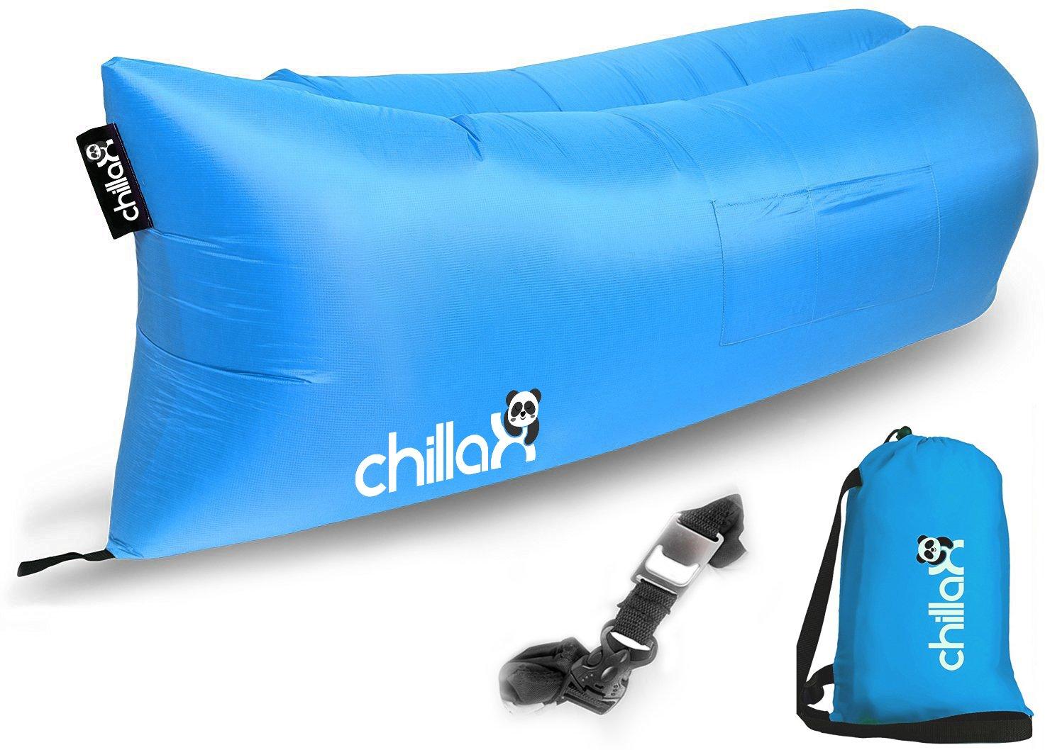 Chillax Air Lounger - Inflatable Lounger Air Lounge Chair Beach Pool Air Bed .. 18
