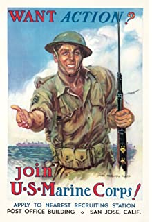 join the us marine corps vintage poster artist flagg james montgomery