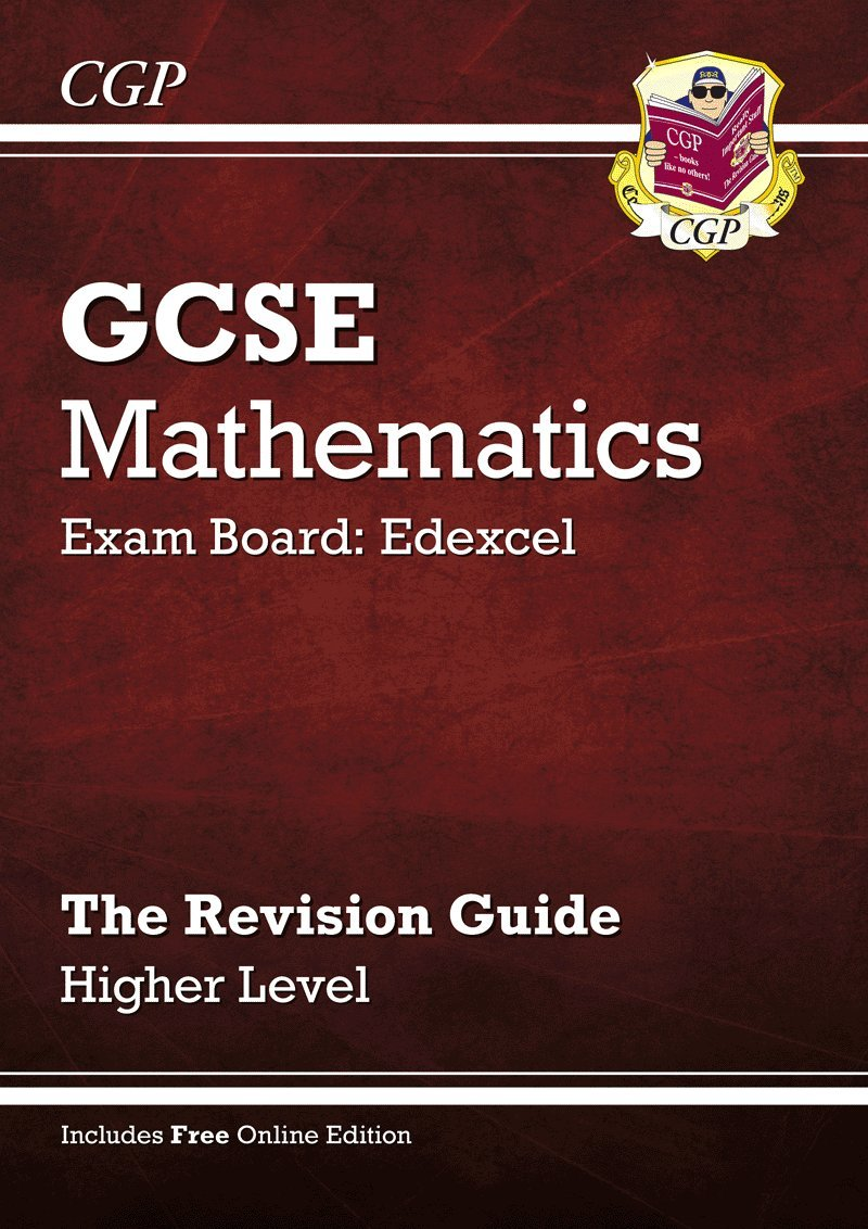 GCSE Maths Edexcel Revision Guide (with Online Edition) - Higher ...