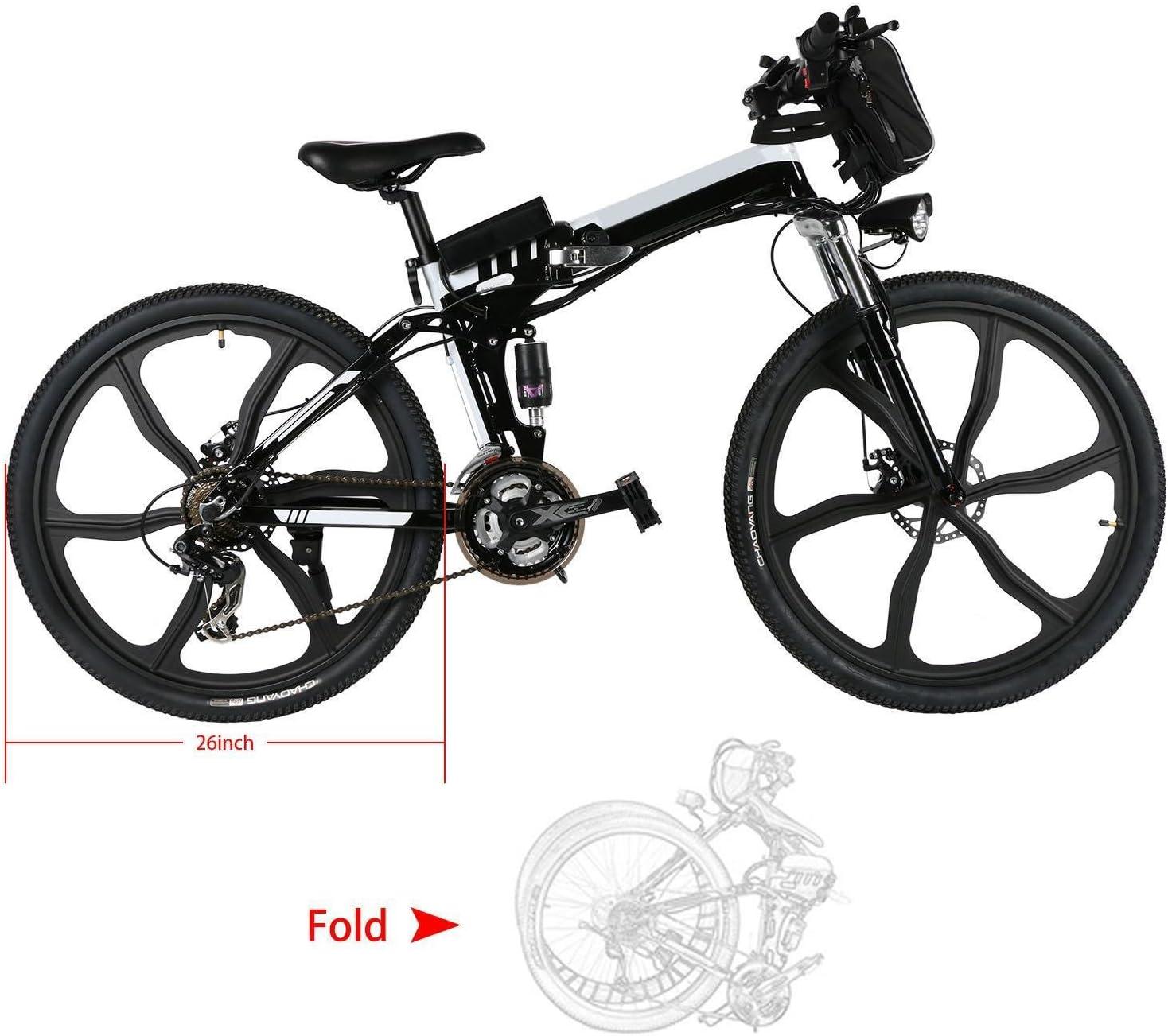 flabor Mountain Bike Varietà de Tipo Motor de 250 W a 500 W Ruedas ...