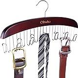 Belt Hanger, Ohuhu Belt Organizer for Closet, Hanging Belt Rack, 12 Hooks for Storing Belts, Neck Ties, Scarves, Clothing, Ac