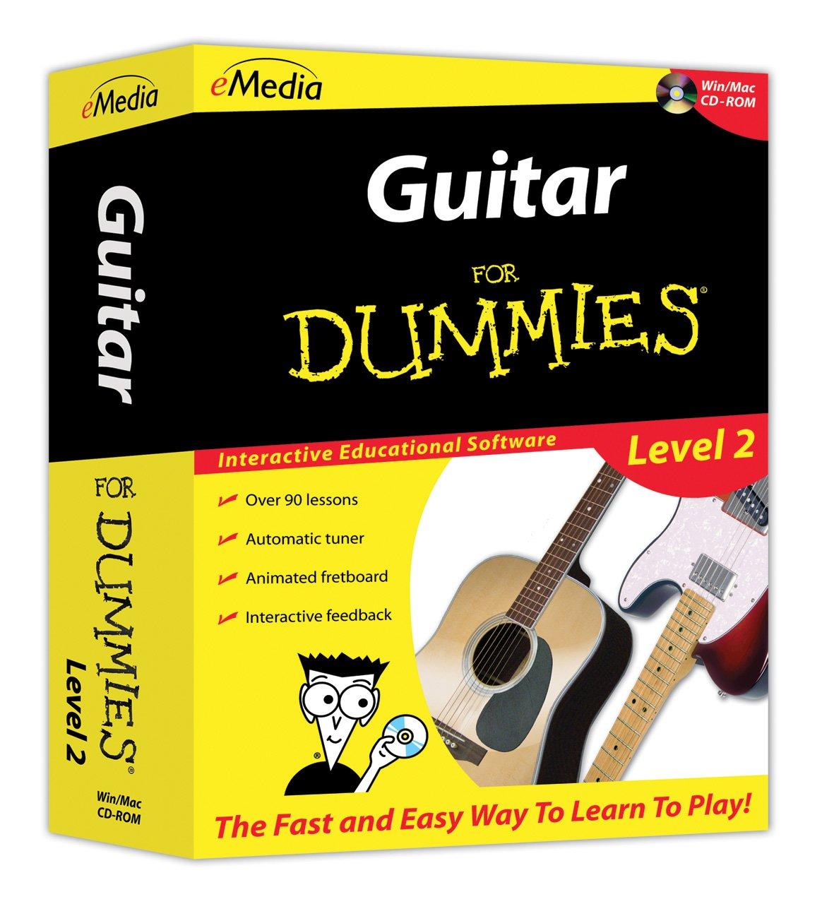 eMedia Guitar For Dummies Level 2 by eMedia