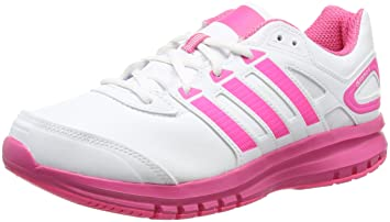 adidas Duramo 6 Syn K - Zapatillas para hombre, color blanco/rosa, talla