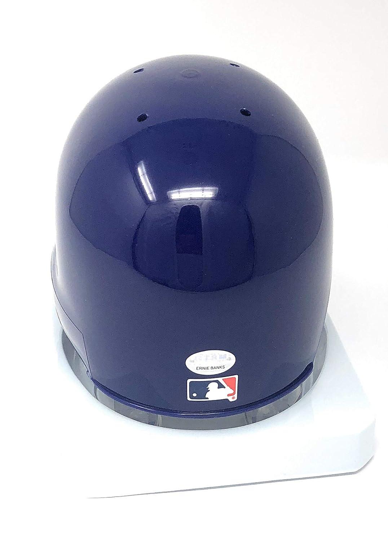 c0141574bd1 Amazon.com  Ernie Banks Chicago Cubs Signed Autograph Mini Helmet GTSM Banks  Player Hologram Certified  Sports Collectibles
