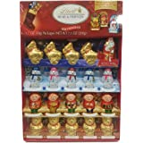 Lindt Holiday Milk Chocolate Figures Novelty Pack, Great for Holiday Gifting, 7.1 Ounce