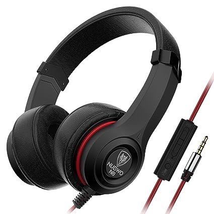 .com: nubwo n8 headphones comfortable lightweight adjustable ...