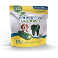Ark Naturals Brushless Toothpaste, Dog Dental Chews for Small Breeds, Vet Recommended for…