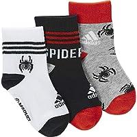 adidas Marvel Little Kids Spiderman 3Pp Ankle Socks
