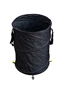 Durable Large Camping Trash/Garden Bin With Ground Stakes