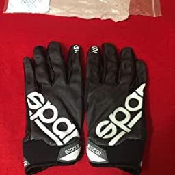Sparco Meca 3 Mechanics Glove 002093 Size: Small, Black