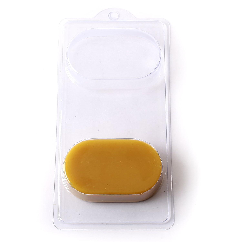4 Cavity Oblong Soap/Bath Bomb Mould Mold A01 World Of Moulds
