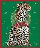 Caspari Advent Calendar Card, Wild Christmas