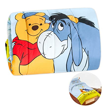 Trapunta Lettino Winnie The Pooh.Emmevi Trapunta Piumone Winnie The Pooh Letto Letto Singolo 1 Piazza Invernale Bimbo Bimba Disney Originale Mod Trapunta Winnie Pooh Azzurro
