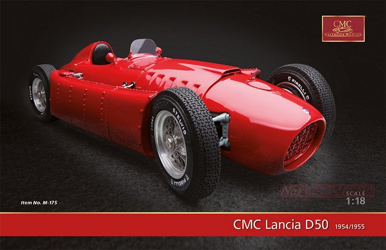 CMC CMC175 FERRARI D50 1954-55 PRESS VERSION RED 1:18 MODELLINO DIE CAST MODEL