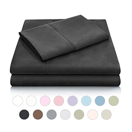 MALOUF Double Brushed Microfiber Super Soft Luxury Bed Sheet Set   Wrinkle  Resistant   Full Extra