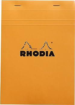 Rhodia Orange Cover Pad Graph Paper