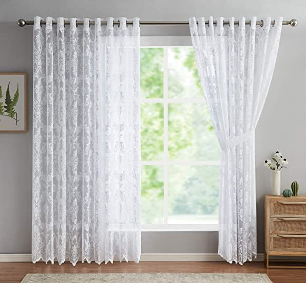 ASATEX Pair of Extra Large - a good cheap window curtain panel