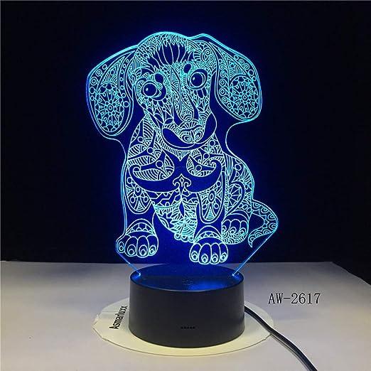 LED sensor de luz nocturna táctil 7 color infantil imperdonable ...