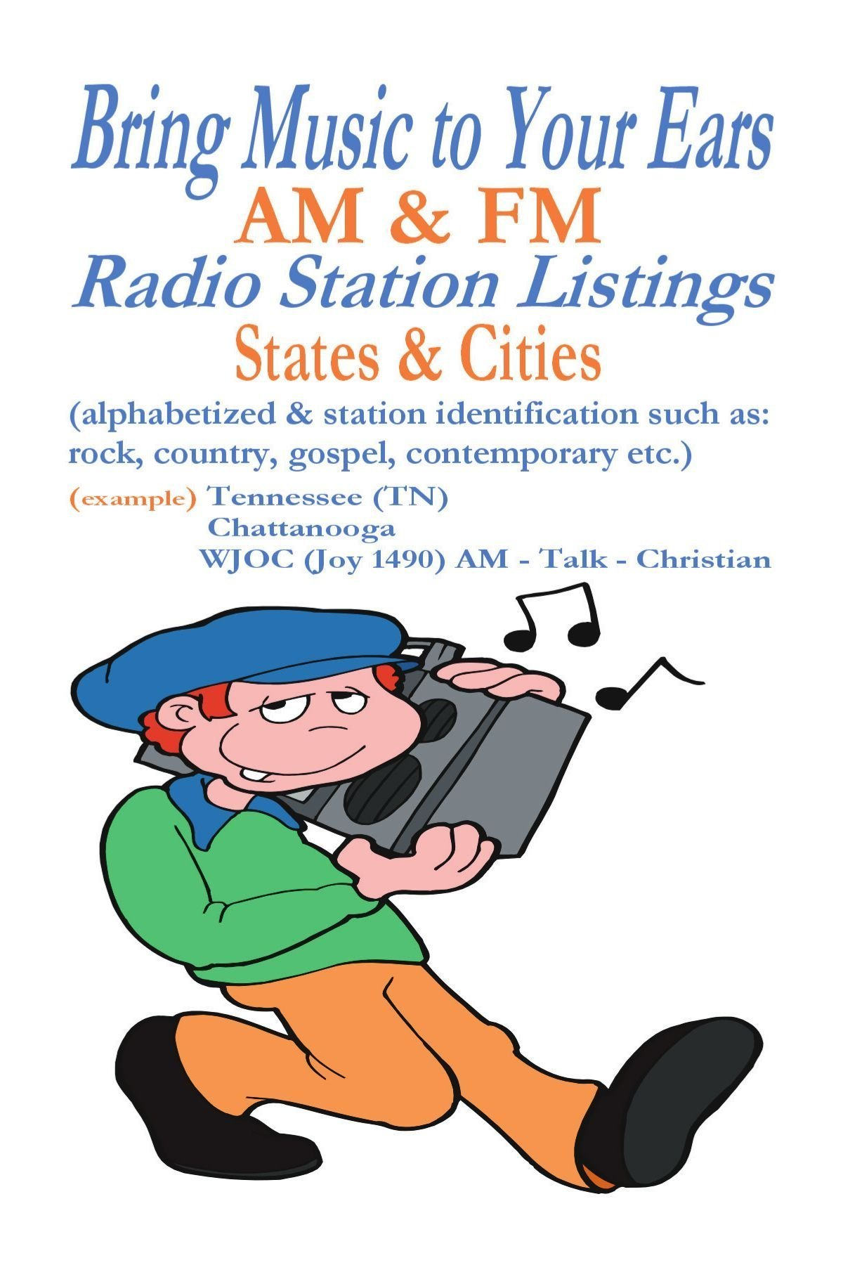 Bring Music to Your Ears: AM & FM Radio Station Listings