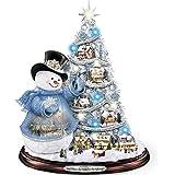 Thomas Kinkade Snowman Pre-Lit Christmas Tree: Sno' Place Like Home For The Holidays by The Bradford Exchange