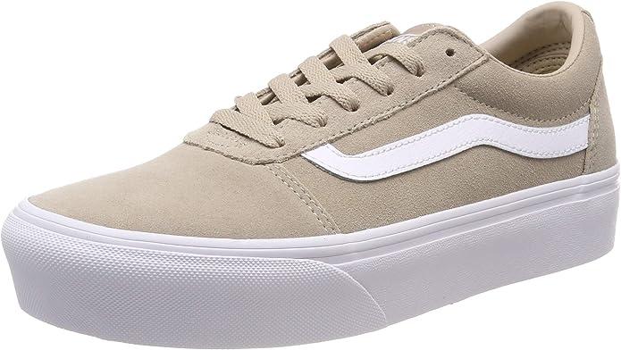 Vans Ward Sneakers Platform Damen Beige